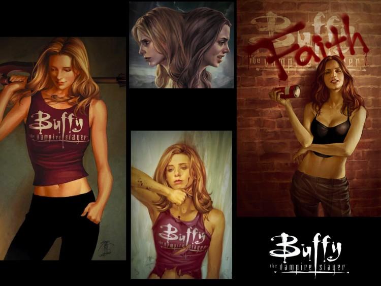 Fonds d'écran Séries TV Buffy Contre Les Vampires buffy saison 8 (bd)