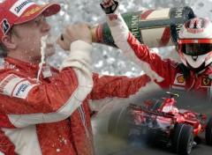 Wallpapers Sports - Leisures Kimi Raikkonen World Champion 2007