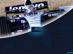 Wallpapers Sports - Leisures Williams F1 Team 2008