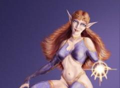 Fonds d'écran Art - Peinture Elfe