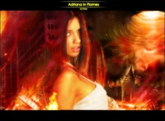 Wallpapers Celebrities Women Trapped in the flames