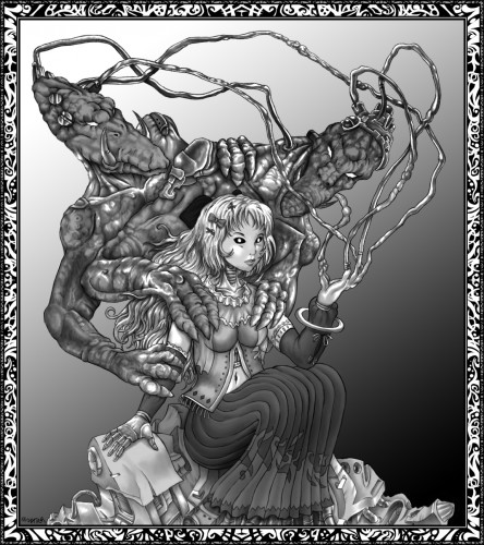Wallpapers Digital Art Science-Fiction - Robots Princesse Meca 3