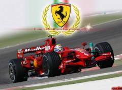 Fonds d'écran Sports - Loisirs Scuderia Ferrari - F1 World Championship 08