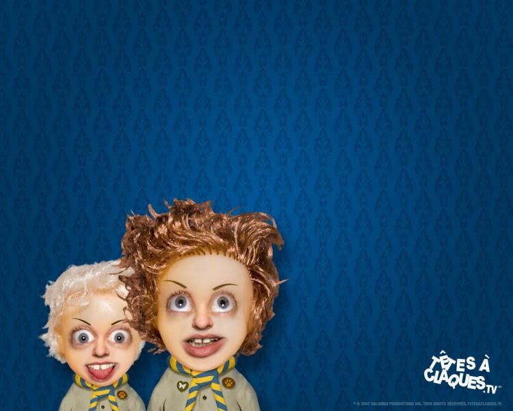 Wallpapers Humor Têtes à claques tetes a claques