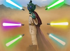 Wallpapers Fantasy and Science Fiction rodian jedi