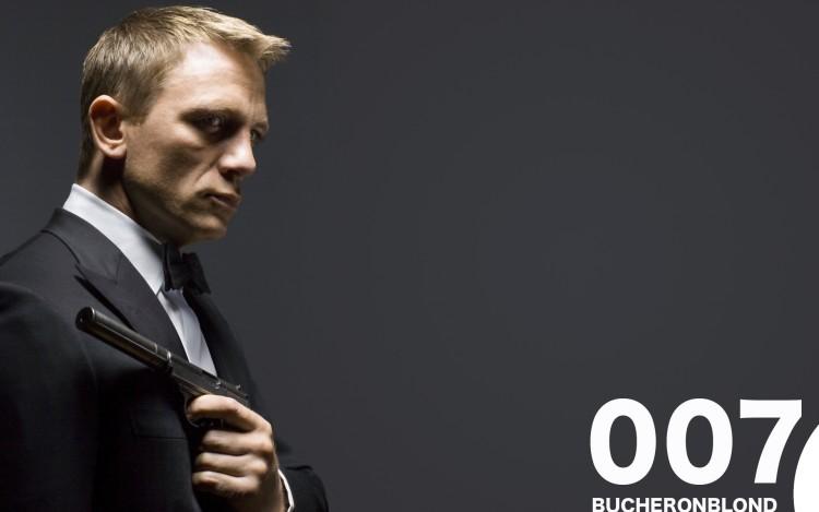 Fonds d'écran Célébrités Homme Daniel Craig 007