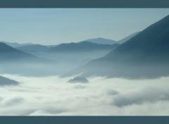 Fonds d'écran Nature Mer de nuage