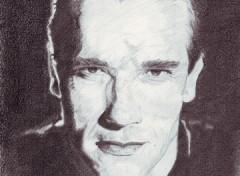 Wallpapers Art - Pencil Arnold Shwarzenegger