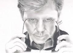 Fonds d'écran Art - Crayon David Caruso
