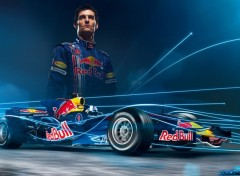 Wallpapers Sports - Leisures Mark Webber 2008
