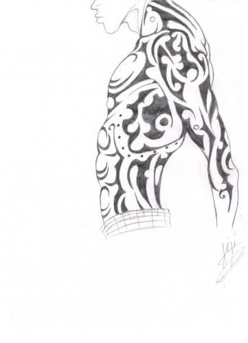 Fonds d'écran Art - Crayon Tatouages men's tattoo