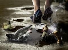 Fonds d'écran Hommes - Evênements Fond Shark