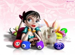 Wallpapers Digital Art Bella Bingo Paque