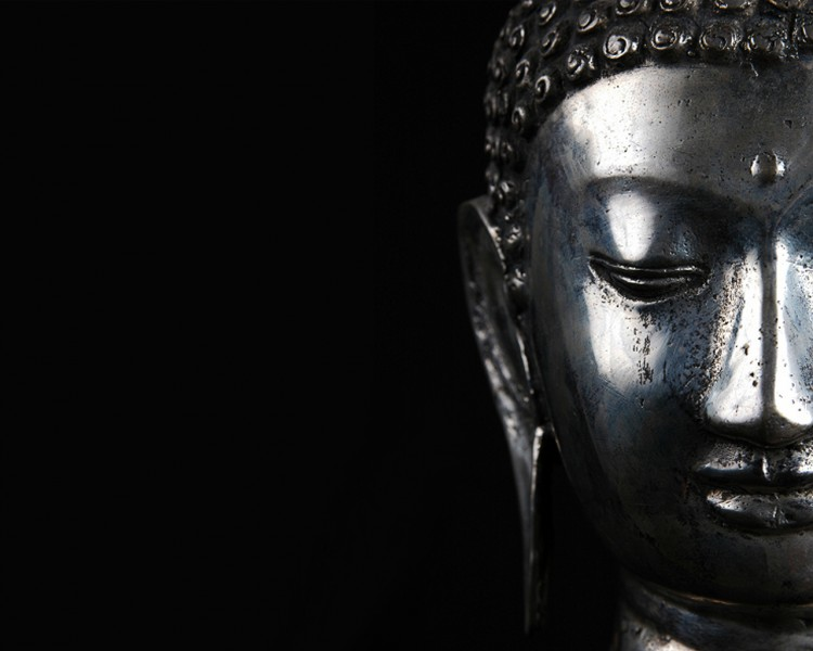 Wallpapers Trips : Asia India black buddha