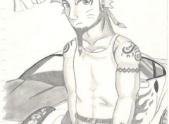 Fonds d'écran Art - Crayon Naruto Street racer