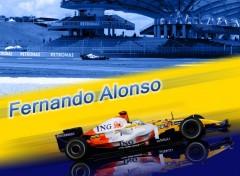 Fonds d'écran Sports - Loisirs Fernando Alonso 2008