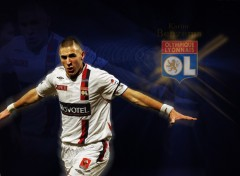 Wallpapers Sports - Leisures Karim Benzema - Lyon (OL)