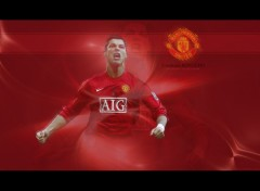 Wallpapers Sports - Leisures Cristiano Ronaldo - Manchester United