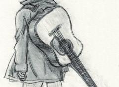 Fonds d'écran Art - Crayon Kenji