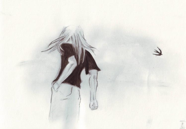 Fonds d'écran Art - Crayon Manga - Enfer et paradis Shin