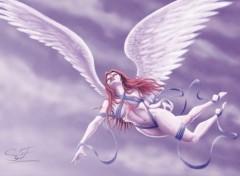 Fonds d'écran Art - Numérique L'ange tué
