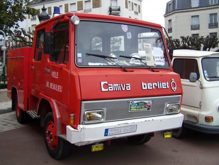 Wallpapers Various transports Trucks Berliet Camiva