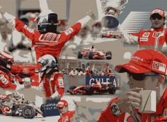 Fonds d'écran Sports - Loisirs Scuderia Ferrari - Bahraïn 2008