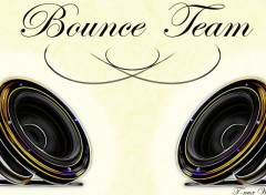 Fonds d'écran Musique Bounce Team White