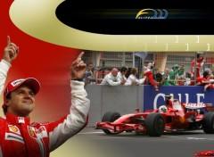 Fonds d'écran Sports - Loisirs Felipe Massa 2008
