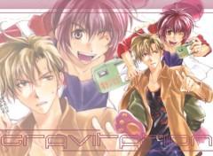 Fonds d'écran Manga Shuichi & Yuki