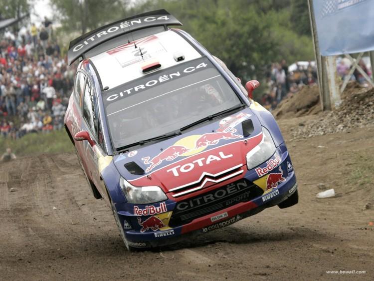Fonds d'écran Sports - Loisirs Rallye S.Loeb en action !