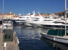Fonds d'écran Bateaux yatchs à St Tropez