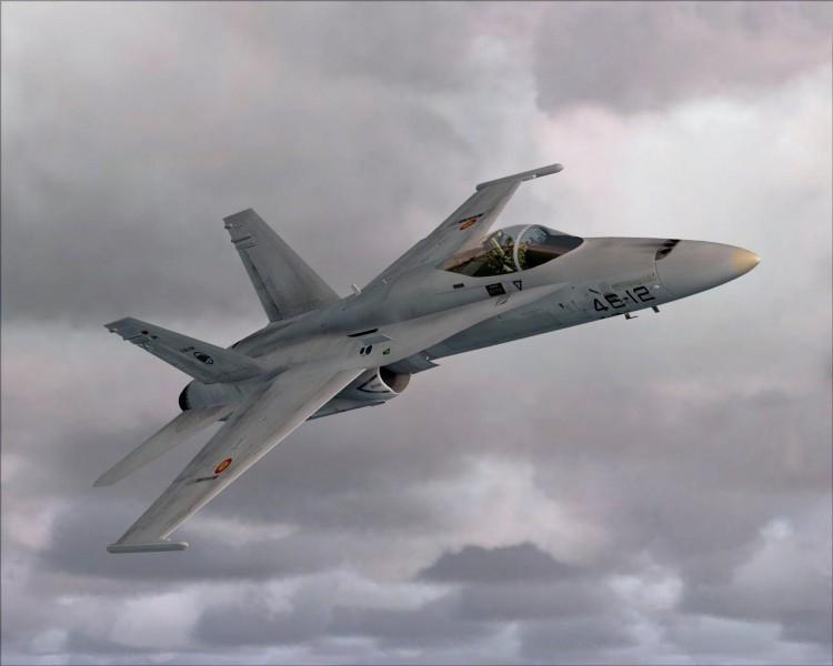 Fonds d'écran Avions Avions militaires FA 18