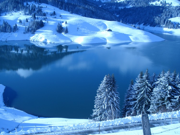 Wallpapers Nature Wallpapers Mountains Paysage Hiver En