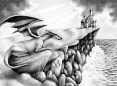 Wallpapers Art - Pencil Guardien de la cote