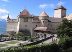 Fonds d'écran Constructions et architecture le château de chillon