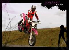 Wallpapers Motorbikes stunt