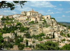 Fonds d'écran Voyages : Europe Gordes