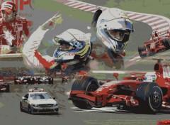 Wallpapers Sports - Leisures Scuderia Ferrari - Istanbul 2008