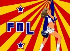 Fonds d'écran Art - Numérique FNL - Cheerleader