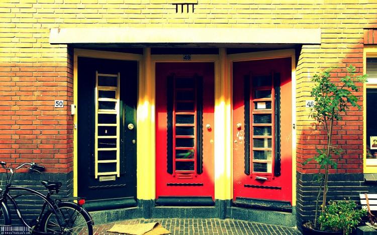 Fonds d'écran Voyages : Europe Pays-Bas Triplettes d'Alkmaar