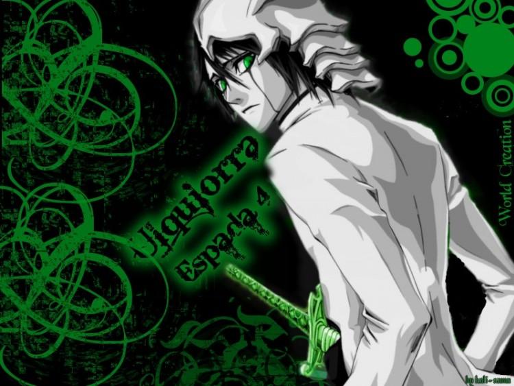 Fonds d'écran Manga Bleach ulquiorra espada 4