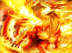 Wallpapers Fantasy and Science Fiction Fire Dragon