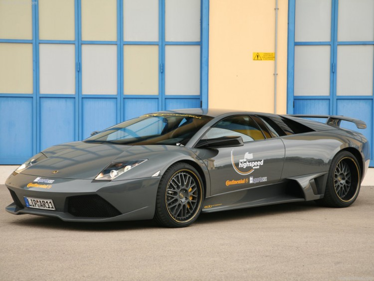 Fonds d'écran Voitures Lamborghini Edo Lamborghini Murcielago LP640 Nardo (2008)