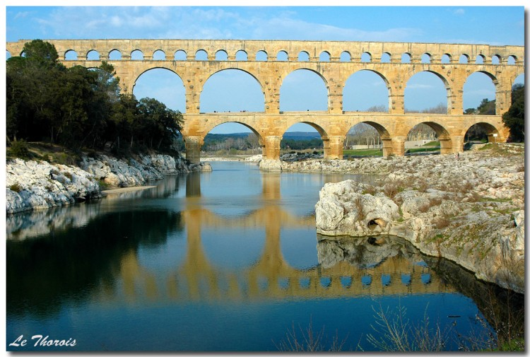 Wallpapers Trips : Europ France > Languedoc-Roussillon Pont du Gard