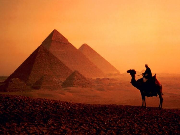 Fonds d'écran Voyages : Afrique Egypte Pyramides d'Egypte