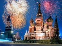 Wallpapers Trips : Europ Kremlin and Red Square Fireworks