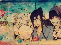 Wallpapers Manga allen kanda et lavi en kimono