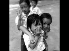Fonds d'écran Voyages : Asie Enfants au Laos