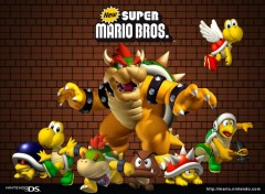 Wallpapers Video Games Bowser et sa Bande